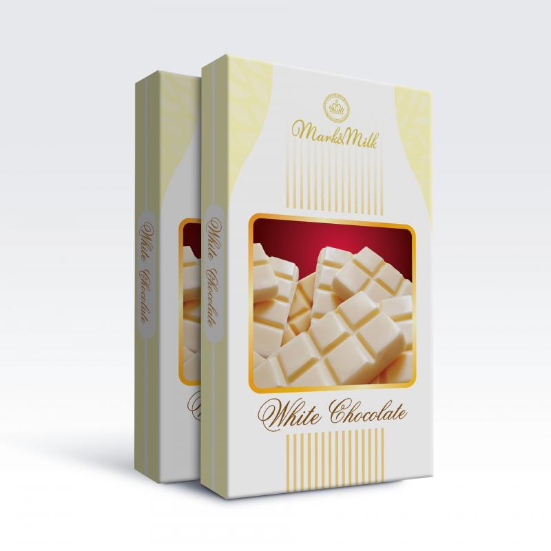 Sô Cô La Mark&Milk Thanh 180g Trắng