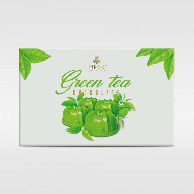 Sô cô la trà xanh 120g HENK.