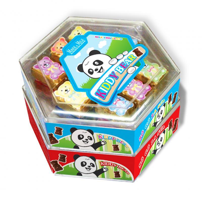 Sô cô la Mark&Milk  Hộp Nhựa con gấu 150g