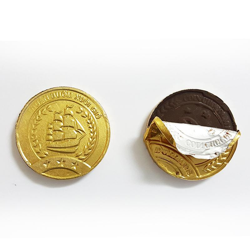 Sô cô la sữa đồng tiền 130g Mark&Milk