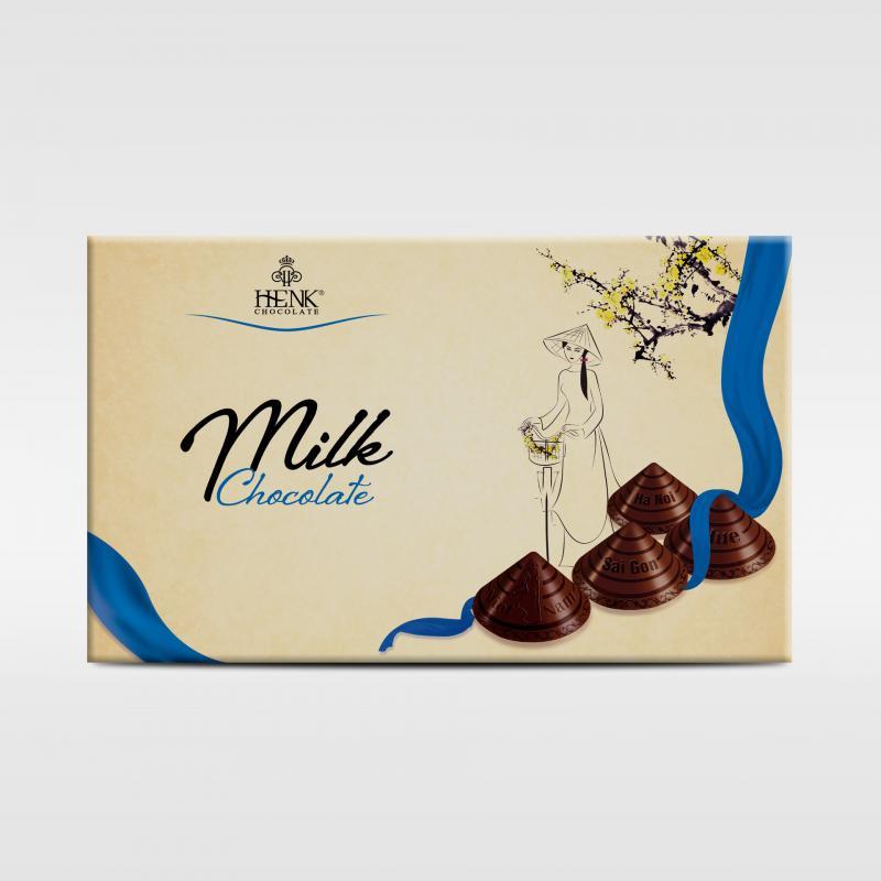 Sô cô la Henk HG Nón lá 120g sữa