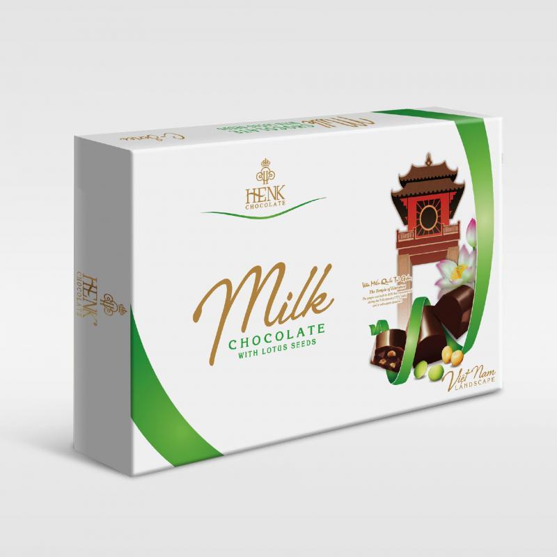 Sô cô la Mark&Milk PCVN hạt sen 200g