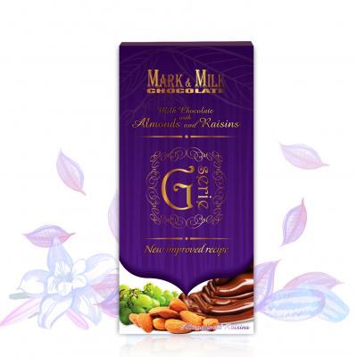 Sô Cô La Mark&Milk G-serie thanh 100g Hạnh nhân